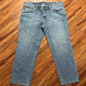 LOFT Capri Jeans